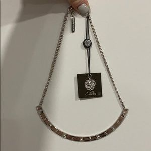 NWT Vince Camuto Silver Necklace With Studs